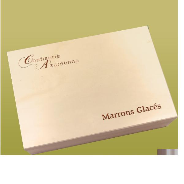 Marronnières bois 30 marrons glacés plié OR PROMOTION