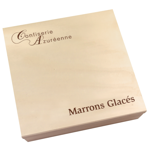 Marronnières bois 42 marrons glacés plié OR SUPER PROMO -30%