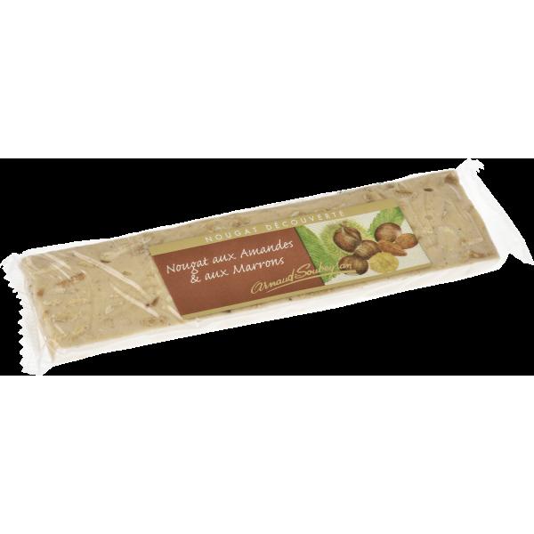 Barre de nougat aux Marrons 100g