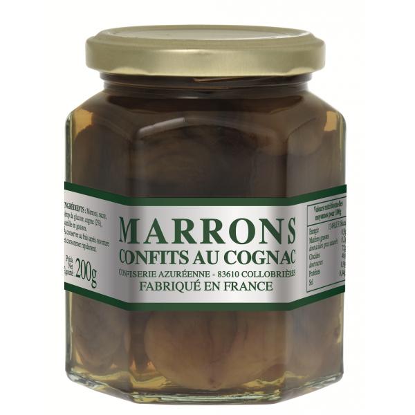 Marrons Confits au Cognac 200 g