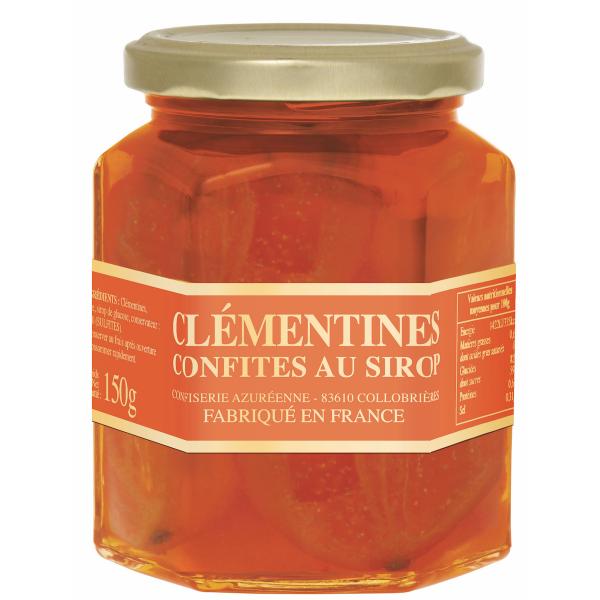 Clémentines confites 150g