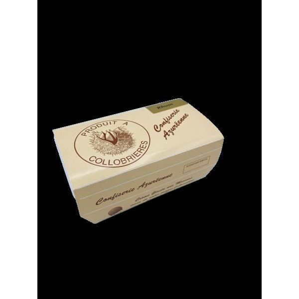 Crème Glacée aux Marrons au Rhum 1/2 L