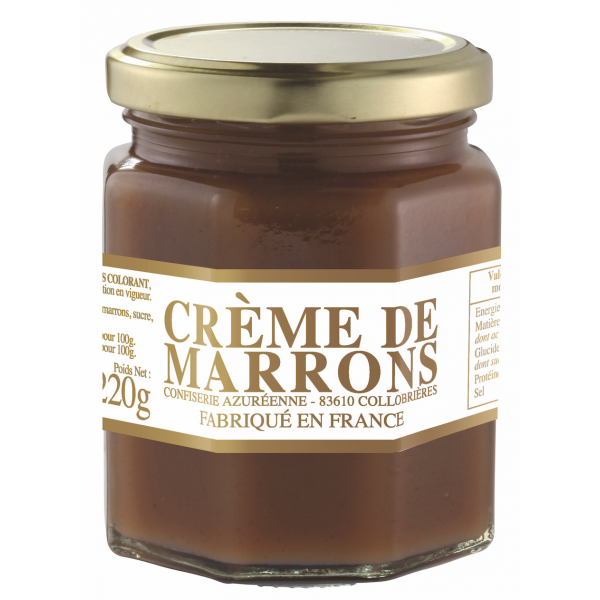 Crème de marrons 220 gr
