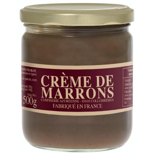 Véritable crème de marrons 500g